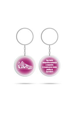Pink kulcstartó