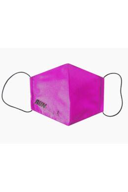 Maszk női - run felirattal - pink
