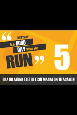 Gratulálunk Életed első maratonjához!