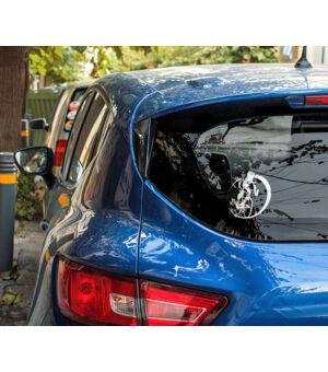 Autómatrica bicós kék autón