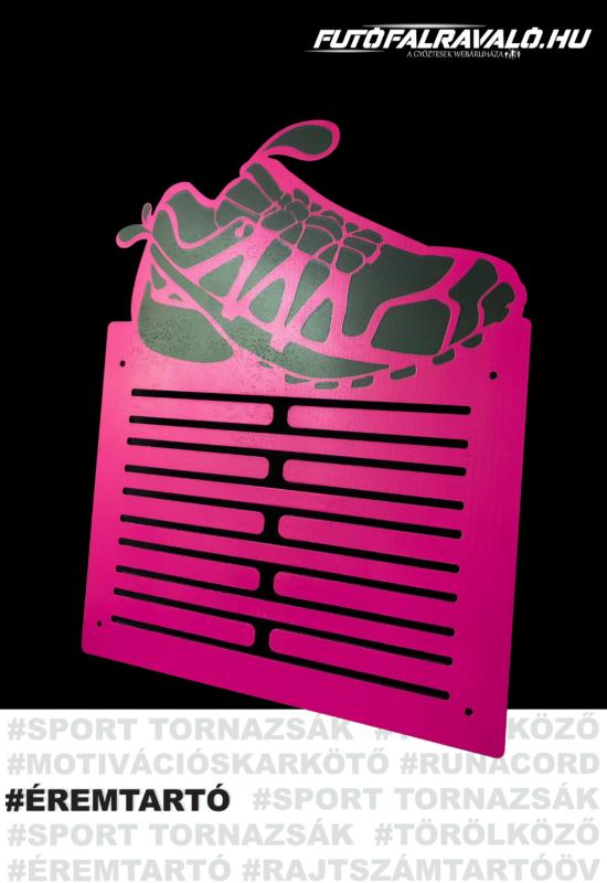 Pink cipő mintás